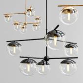 Yearby 6-Light Sputnik Chandelier