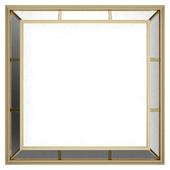 Зеркало декоративное квадратное 89645