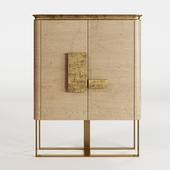 La Casa Grifoni Silver leaf cabinet