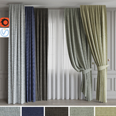 A set of curtains 7. Colored