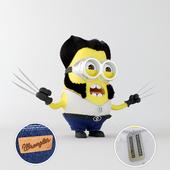 Миньон Росомаха Minion Wolverine