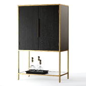 Crate and Barrel Oxford Bar Cabinet
