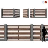 Wooden Fence V