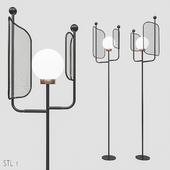 Masiero Papilio STL 1 Floor lamp