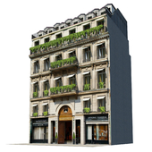 Фасад для бекграунда Vol:7 Классический отель