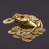 Фен-шуй денежная жаба