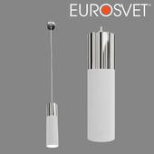 OHM Suspended luminaire Eurosvet 50135/1 LED chrome / white