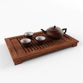 Earthenware tea set 1