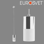 OHM Suspension lamp Eurosvet 50146/1 chrome / white