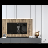 Tv Wall Set 01
