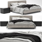 Minotti Tatlin Cover Bed