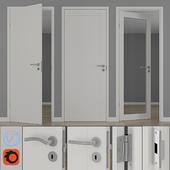 Modern interior doors unique 01L, GW01L, EASY GW