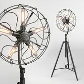 Floor lamp Dialma Brown