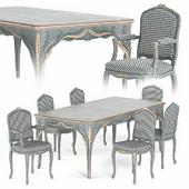 Silvano Grifoni Table and Chair Set
