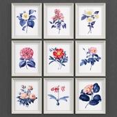 Set of flowers No2