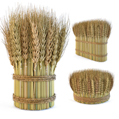 Decorative sheaves of wheat ears 2