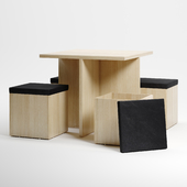 table,chairs