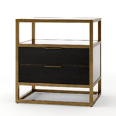 Crate and Barrel Oxford Nightstand