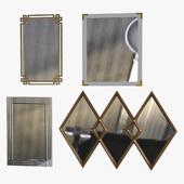 Зеркала 2 (набор 4 штуки)