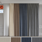 A set of curtains 5