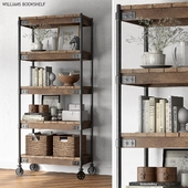 Pottery barn WILLIAMS BOOKSHELF