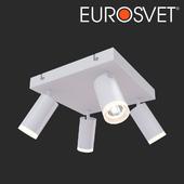 OHM LED ceiling light Eurosvet 20067/4 white