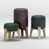 BLEU NATURE Drum stool