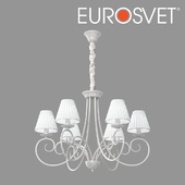 OM Classic chandelier with lampshades Bogate's 280/6 Severina