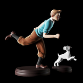 Tintin and Milu