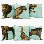 Loft concept - Decorative Pillows set 3