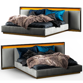 Clan Milano World BLACK GOLD bed