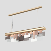 Turri Eclipse Linear Chandelier