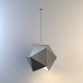 geometric ceiling light