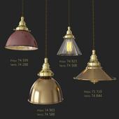 4 Dome Light Shade Pendants