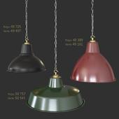 3 Dome Light Shade Pendant