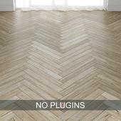 Grey Teak Wood Parquet Floor Tiles vol.003 in 2 types