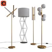 West Elm Floor Lamps set 04