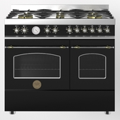 Gas stove Heritage-her100-6-mfe-d-bertazzoni