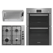 Collection of household appliances BOSCH and ELICA (stainless steel)