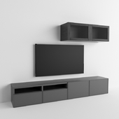 IKEA BESTO + TV панель