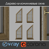Wood - aluminum windows, view 04 part 03 set 04