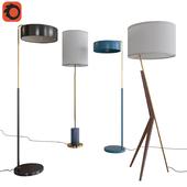 West Elm Floor Lamps Set 05