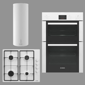 BOSCH and MAUNFELD home appliances collection (white)