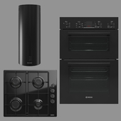 BOSCH and MAUNFELD home appliances collection (black)