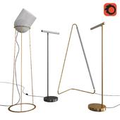 West Elm Floor Lamps set 06