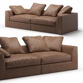 Louis 2-seater Sofa Meridiani