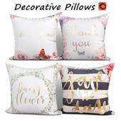 Decorative pillows set 352 Wintefei
