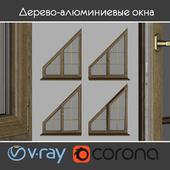 Wood - aluminum windows, view 04 part 03 set 08