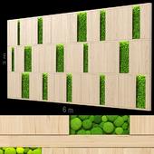 Decorative wall 197.