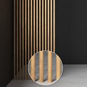 Рейки деревянные круглые